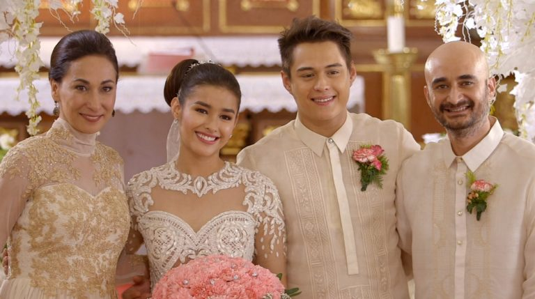 Cherie Gils Character Has Reconciled With The Characters Of Liza Soberano And Enrique Gil In Wedding Scene