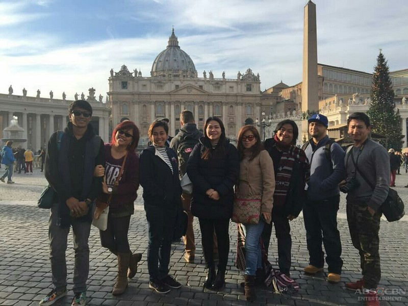 Behind-the-scenes: Dolce Amore Taping in Italy
