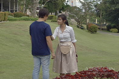 Behind-the-scenes: Liza and Enrique taping in Tagaytay