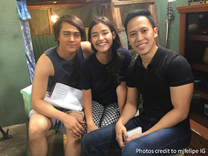 LOOK: On The Set of Dolce Amore: Serena with the Ibarras