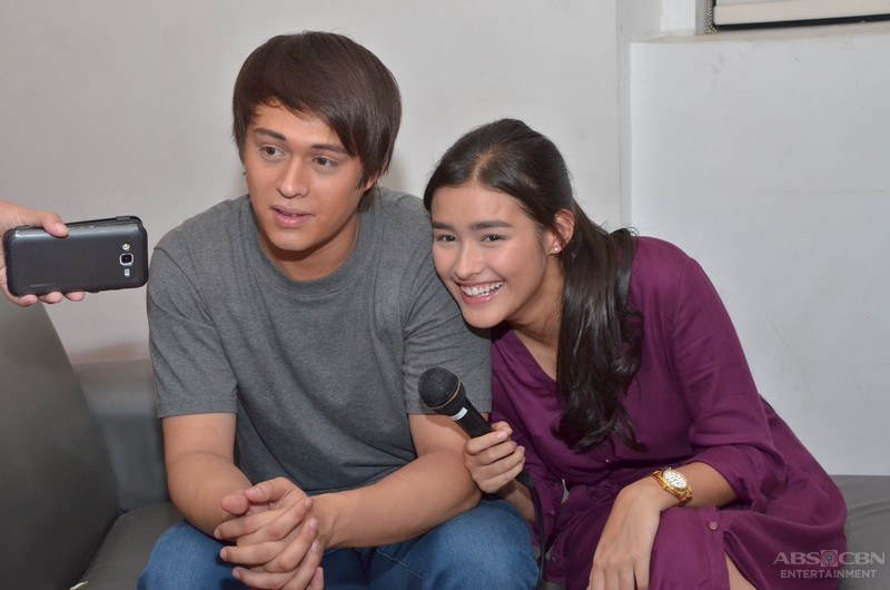 LOOK: Kilig overload with LizQuen on the set of Dolce Amore