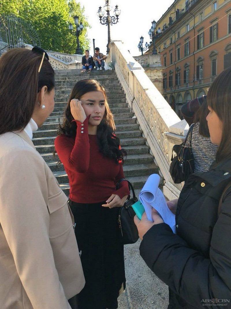 Behind-the-scenes: Dolce Amore taping in Bologna, Italy