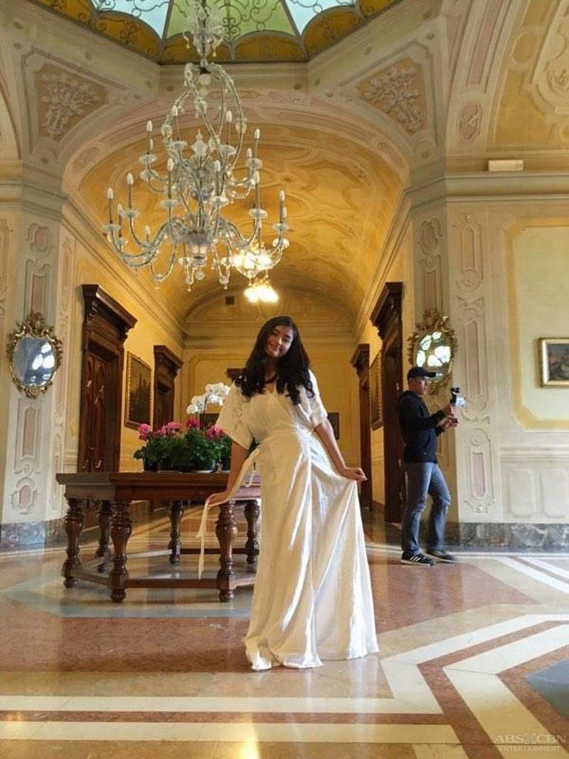 Serena in Italia