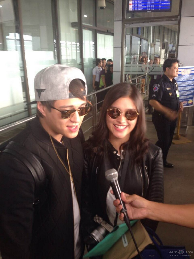 Liza and Enrique on the way to Europe