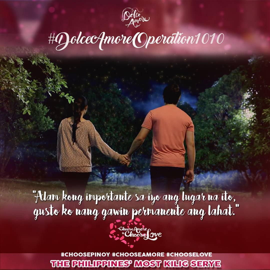 Most Kilig Quotes in Dolce Amore