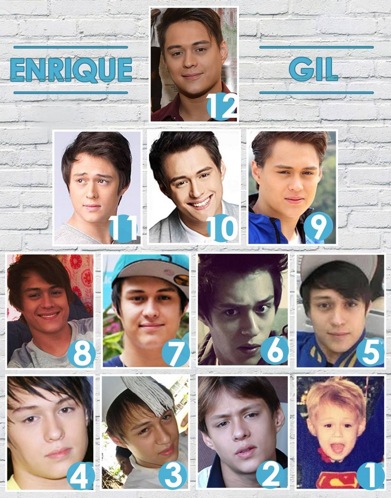 LOOK: Enrique Gil through the years